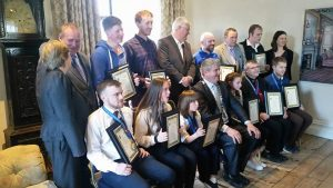 Civic Awards for the Wexford members of WKC Team Ireland.Brendan Donnelly President WKC Ireland