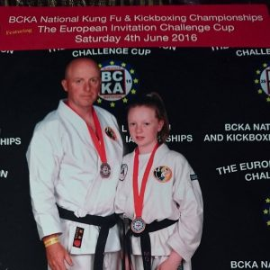 Dave and Mollie Carolan BCKA European Championships Bronze Medal